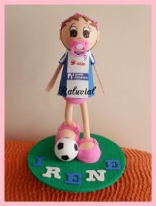 Fofucha bebé futbolista