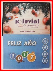 Calendario Raluvial feliz 2017