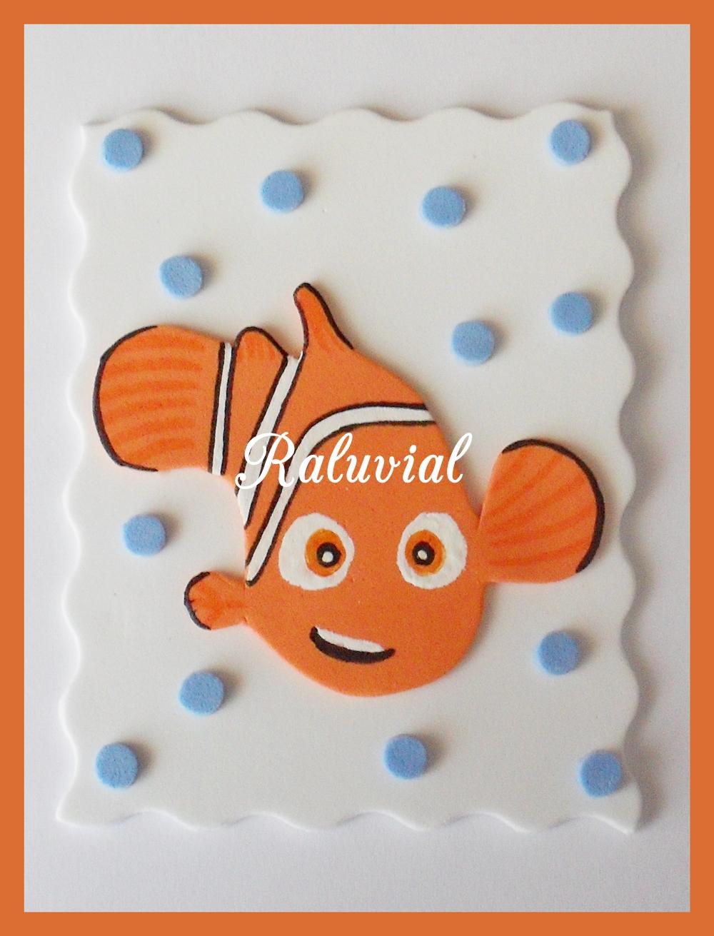 Pez Nemo en goma eva