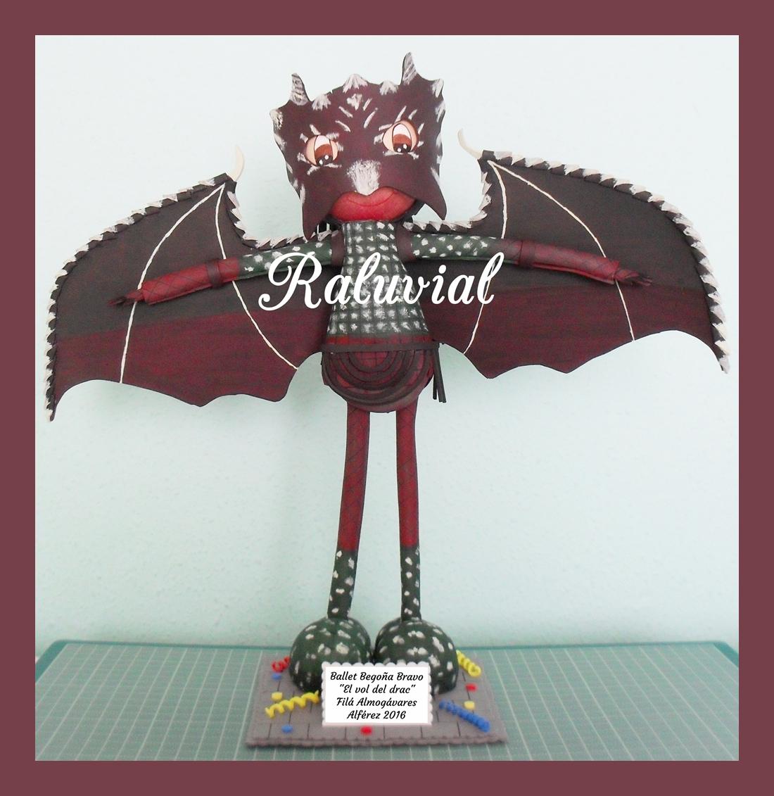 Fofucha personalizada ballet el vol del drac