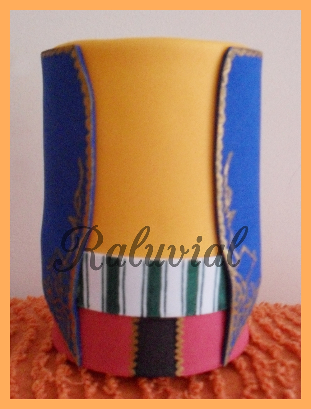 Bote portalápices femenino filà ligeros
