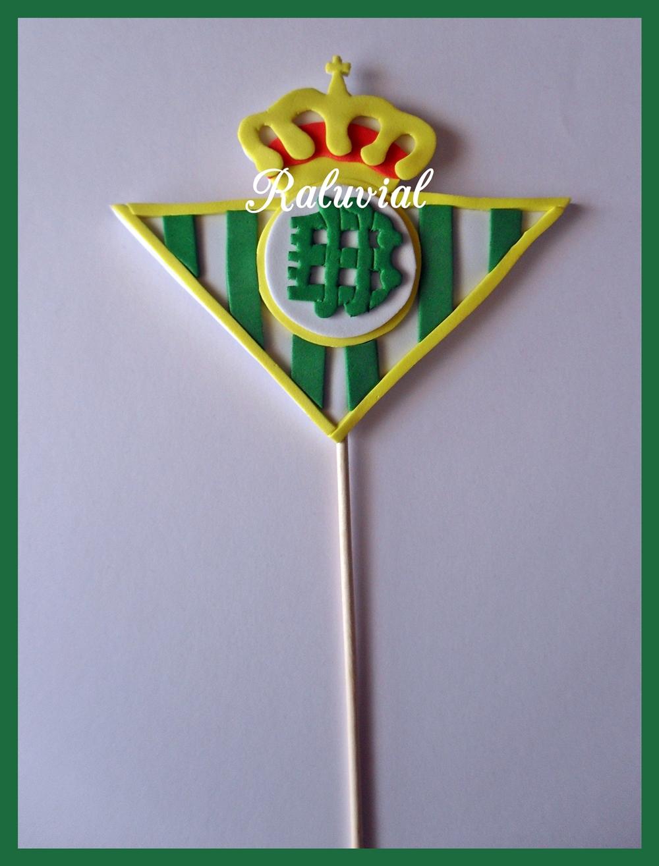 Escudo Real Betis Balompié en goma eva