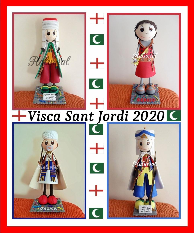 FELICES FIESTAS VISCA SANT JORDI 2020